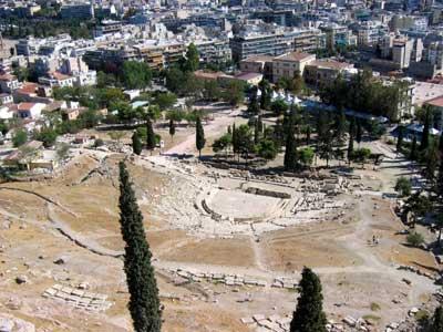 Dionýsovo divadlo pod Akropolí<br />