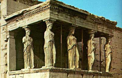 Erechtheion v Athénách